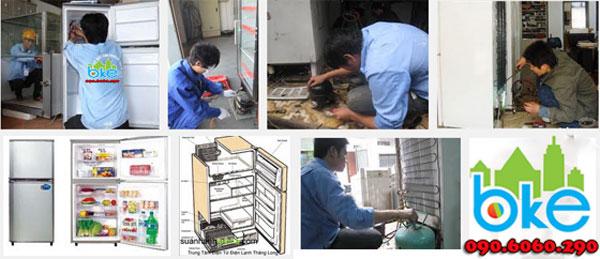 Sửa chữa tủ lạnh tại Thị xã Chí Linh