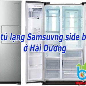 Sửa Tủ Lạnh Samsung Side By Side Tại Hải Dương