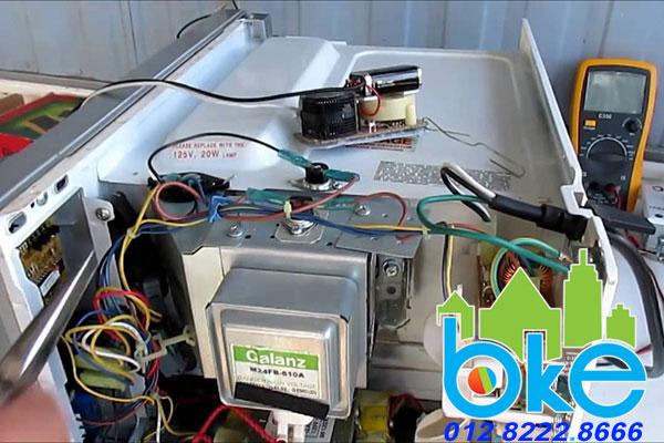 Dịch vụ sửa chữa lò vi sóng tại Hải Dương giá rẻ chuyên nghiệp