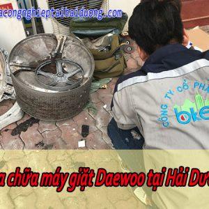 Bảo Dưỡng Sửa Chữa Máy Giặt Daewoo Tại Hải Dương Uy Tín Tiết Kiệm
