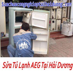 Dịch Vụ Bảo Dưỡng Sửa Tủ Lạnh AEG Tại Hải Dương Giá Rẻ