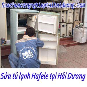 Bảo Dưỡng Sửa Tủ Lạnh Hafele Tại Hải Dương Chuyên Nghiệp Giá Rẻ