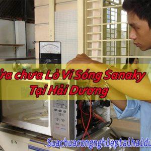 Sửa Chữa Lò Vi Sóng Sanaky Tại Hải Dương