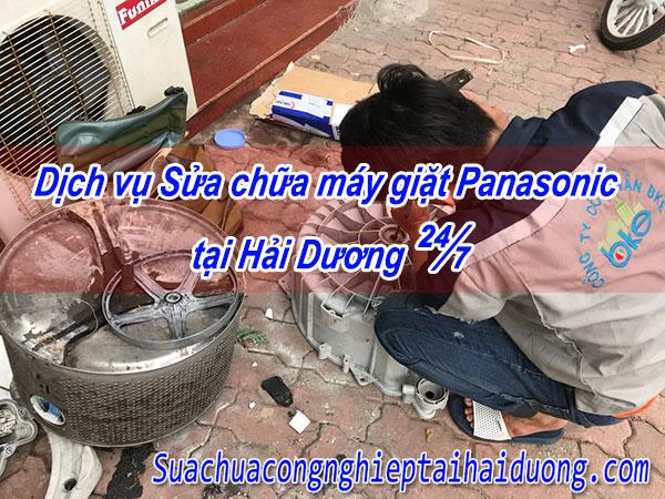 Dịch Vụ Sửa Chữa Máy Giặt Panasonic Tại Hải Dương 24/7