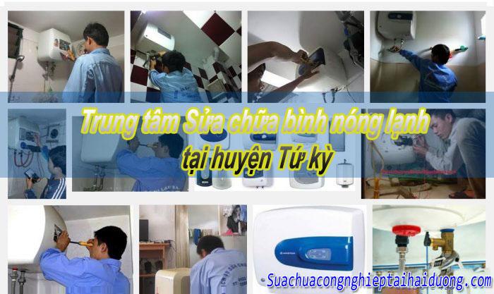 Sửa chữa bình nóng lạnh tại huyện Tứ Kỳ