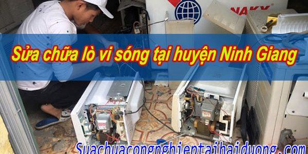 Sửa Chữa Lò Vi Sóng Tại Huyện Ninh Giang Tiết Kiệm Chi Phí Nhất