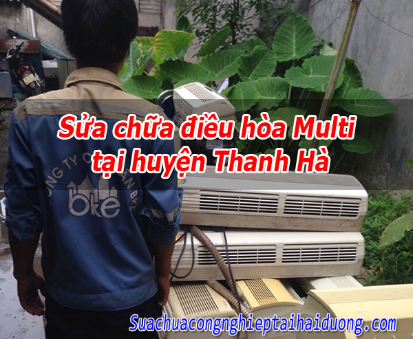 Sửa chữa điều hòa Panasonic tại huyện Thanh Hà