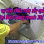 Dịch Vụ Sửa Chữa Máy Sấy Quần áo Tại Bình Giang Nhanh 24/7