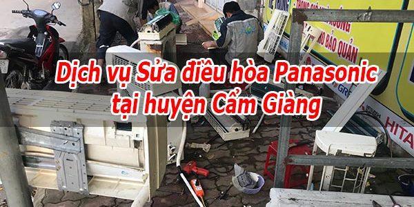 Dịch Vụ Sửa điều Hòa Panasonic Tại Huyện Cẩm Giàng – Bảo Dưỡng Tại Nhà